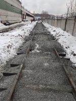 Капитальный ремонт ж/д пути на МО-4_4